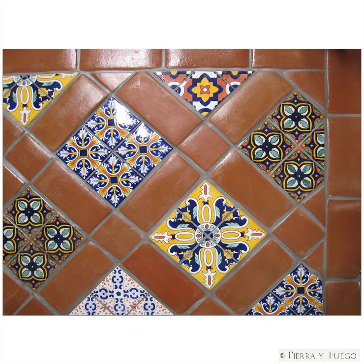 Mexican Tile Flooring 12 Spanish Mission Red Terracotta Floor Tile
