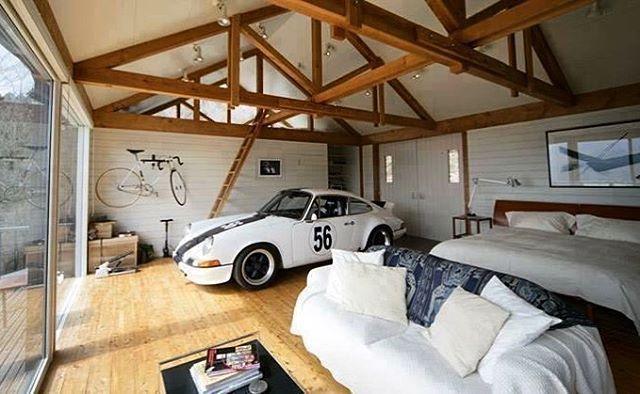 garage goals creative ideas garage porsche garage design rh pinterest com