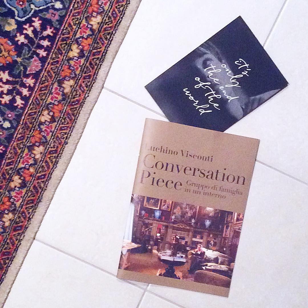 愉しい気持ちになるわけではないけれど根本的なことを考えさせてくれるものを選んだら奇遇にもどちらもカゾクモノでしたっていうオチ . These two are my recent recommendation: 'It's only the end of the world' filmed by and 'Conversation Piece' film by Luchino Visconti. . #blancarteisintotokyo . #luchinovisconti #cinema #academy #travelandlife #suitcasetravels #passionpassport #xavierdolan #justelafindumonde #instagood #置き画くら部 #週末野心 #映画部