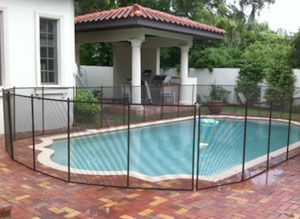 Swimming Pool Fencing-ideas for temporary fencing someday ...