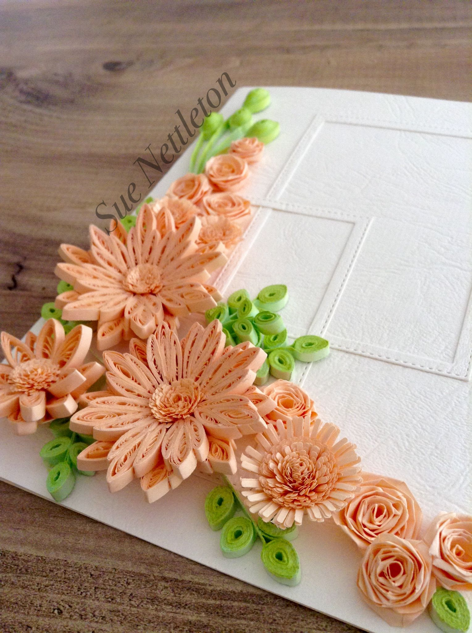 Quilled Flowers Birthday Card September 2018 Origami And