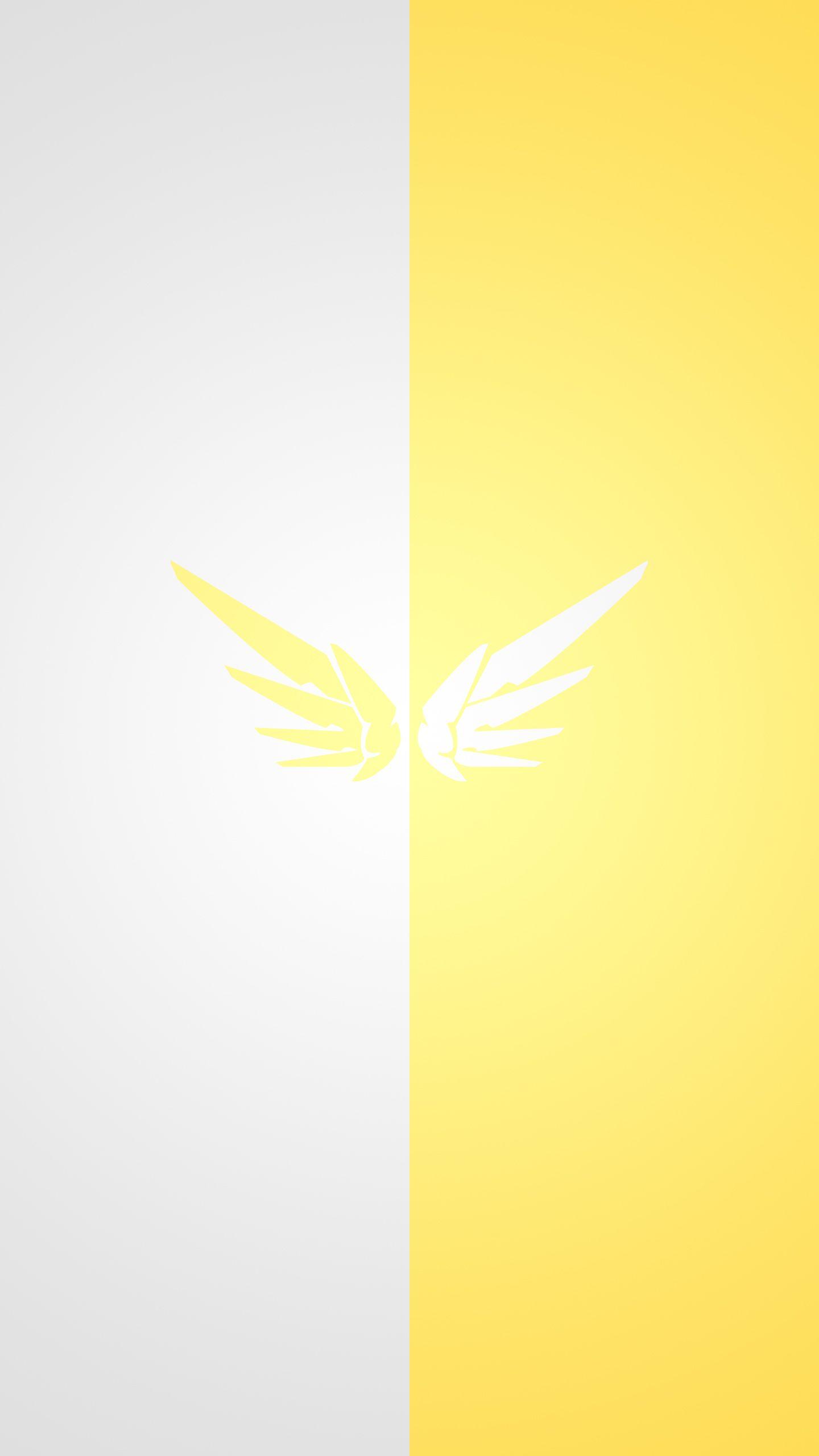 Overwatch - Mercy Wallpaper for V20 | Overwatch | Pinterest ...