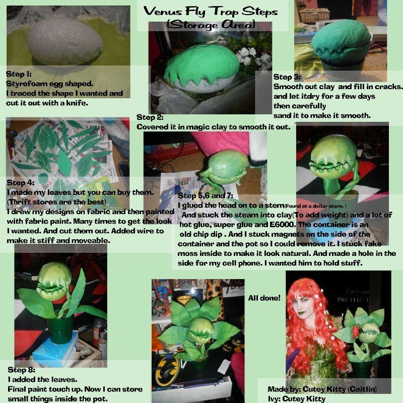 Venus Fly Trap Tutorial By Cuteykitty Deviantart On