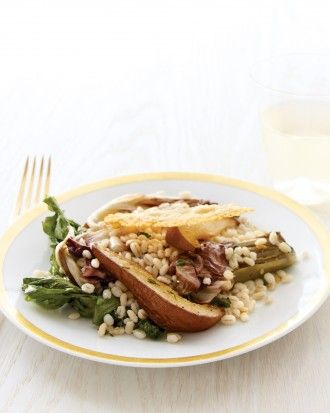 """See the """"Radicchio and Escarole Salad with Barley and Roasted Pears"""" in our Healthy Salad Recipes gallery"""