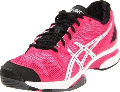 asics pink tennis shoes