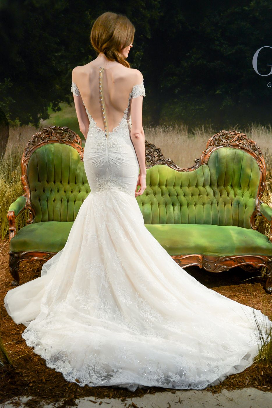 Stunning wedding dresses  The Most Stunning OfftheShoulder Wedding Dresses From Bridal