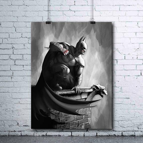 Batman  Batman Poster  Batman Print  DC Comics