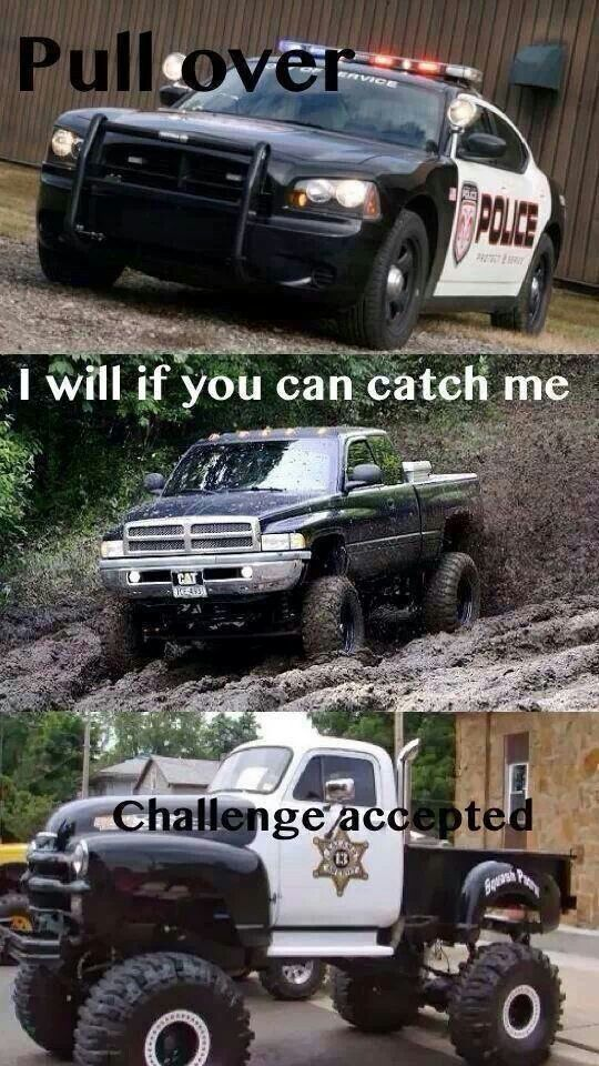 Here I Come Truck Memes Police Truck Ford Jokes