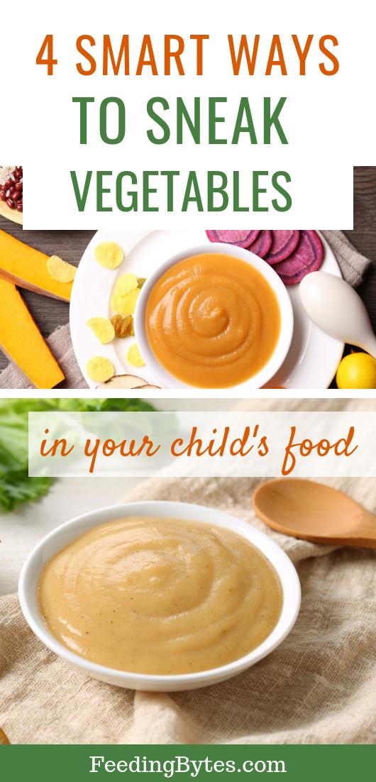 Sneaking Veggies the Smart Way #kidsnutrition