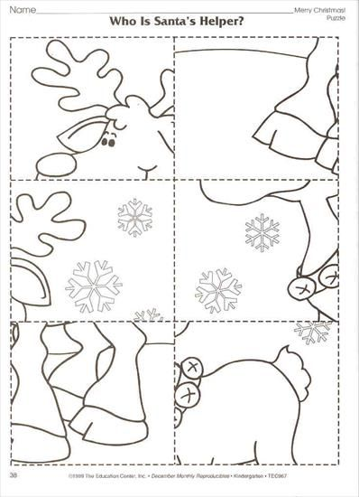 karta pracy zima | Activities Christmas | Pinterest | Vorschule ...