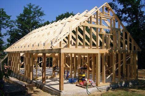 Maison ossature bois en kit pour autoconstructeur bricolage