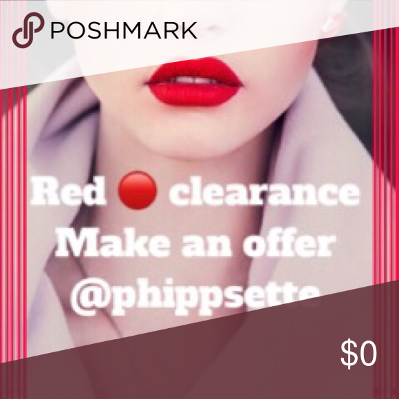 🔴 Red Dot Clearance Look for the 🔴 for the clearance items Other