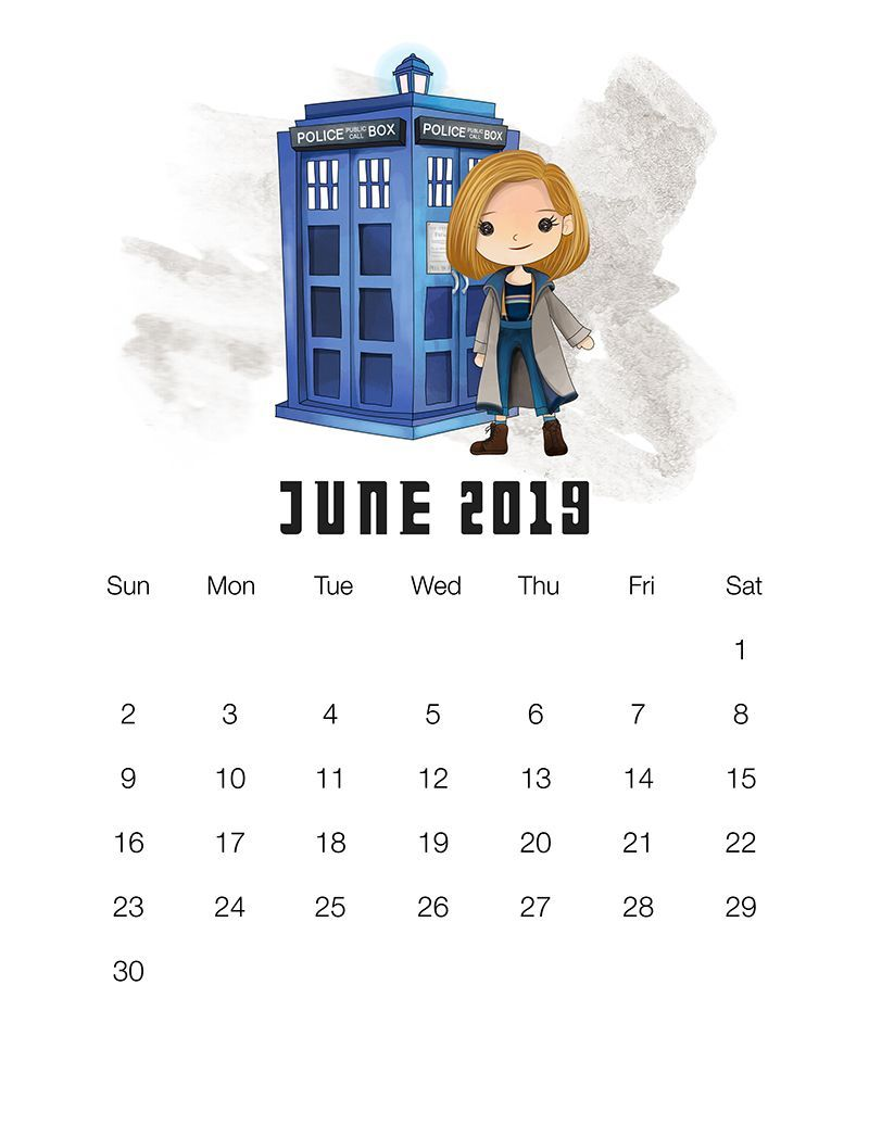Dr Who Christmas 2019.Free Printable 2019 Doctor Who Calendar Christmas Doctor