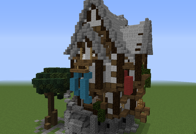 Semi Organic Medieval House Grabcraft Your Number One Source For