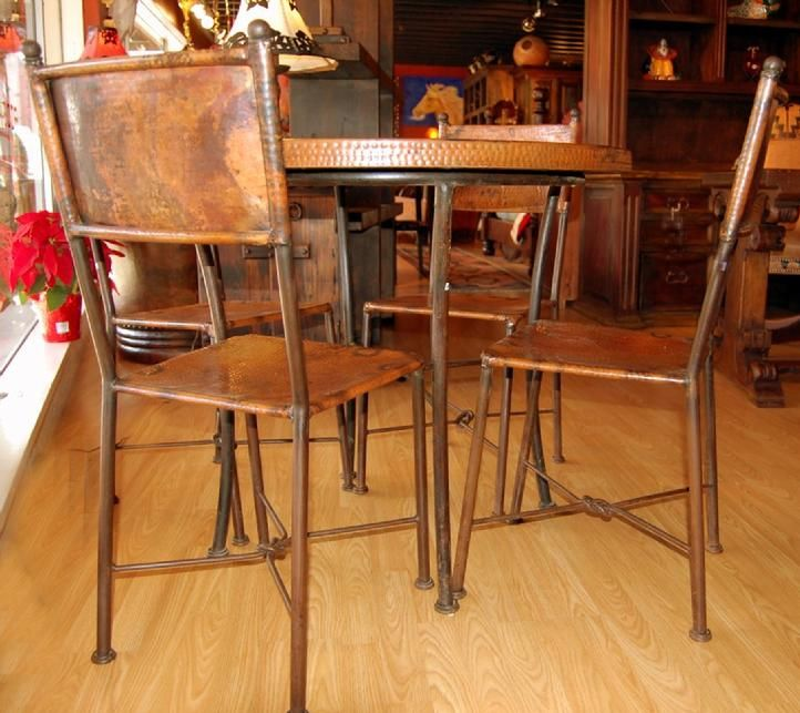 Copper Patio Set From Rios Furniture In Fort Worth Stockyards Tx