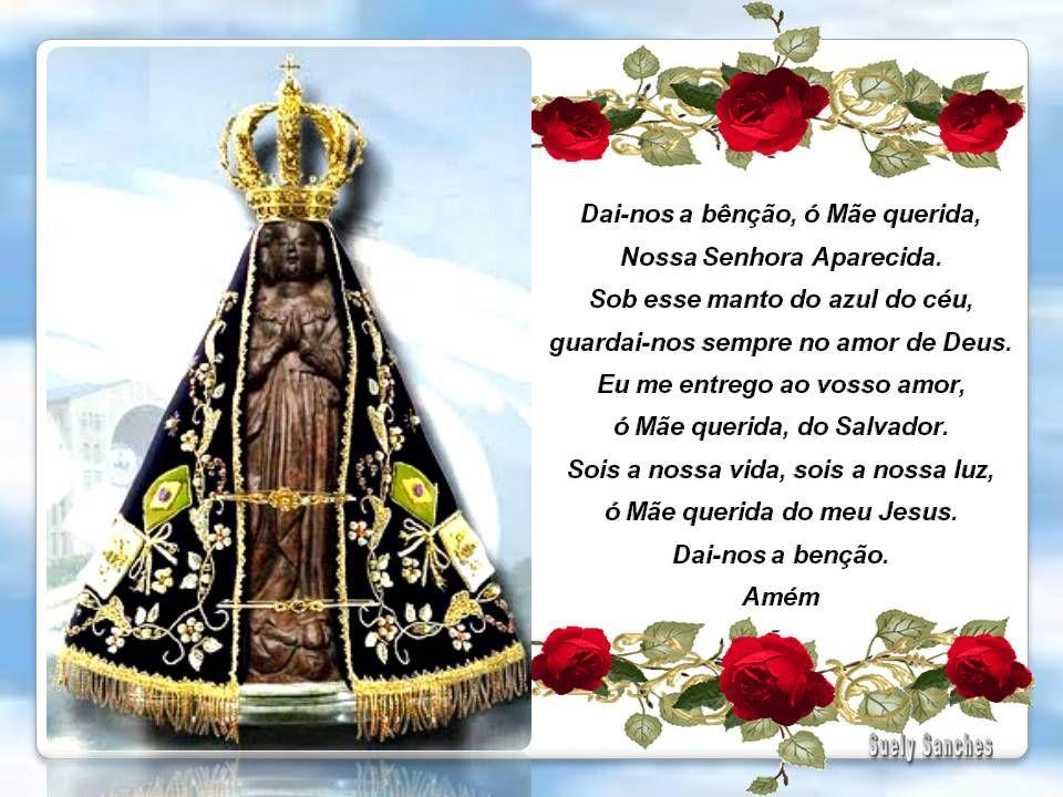Oração Da Noite Nossa Senhora Aparecida Rogai Por Nós: NOSSA SENHORA APARECIDA ORAÇÃO