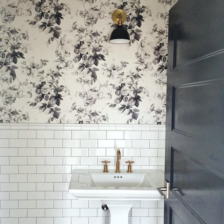 To Brass Or Not To Brass In The New Un Bathroom Office Bathroom Bathroom Design Bathroom Inspiration