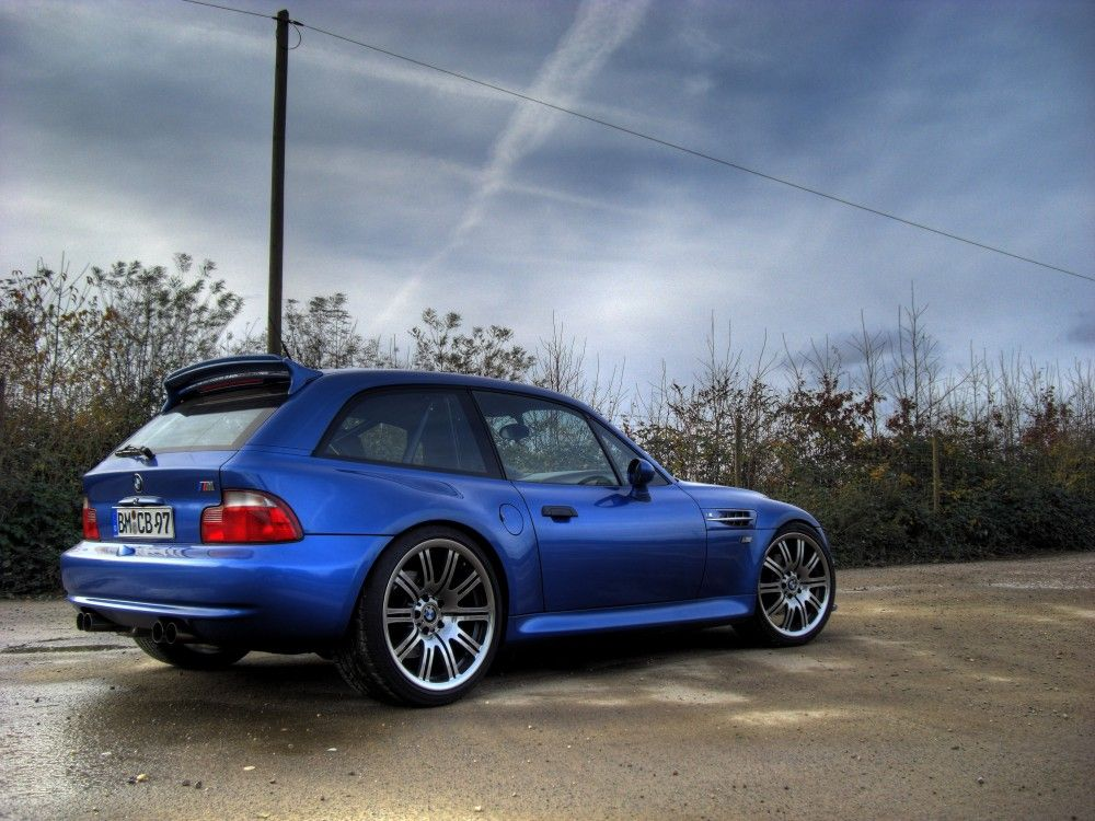Estoril Blue Bmw Z3 M Coupe With E36 M3 Wheels Bmw