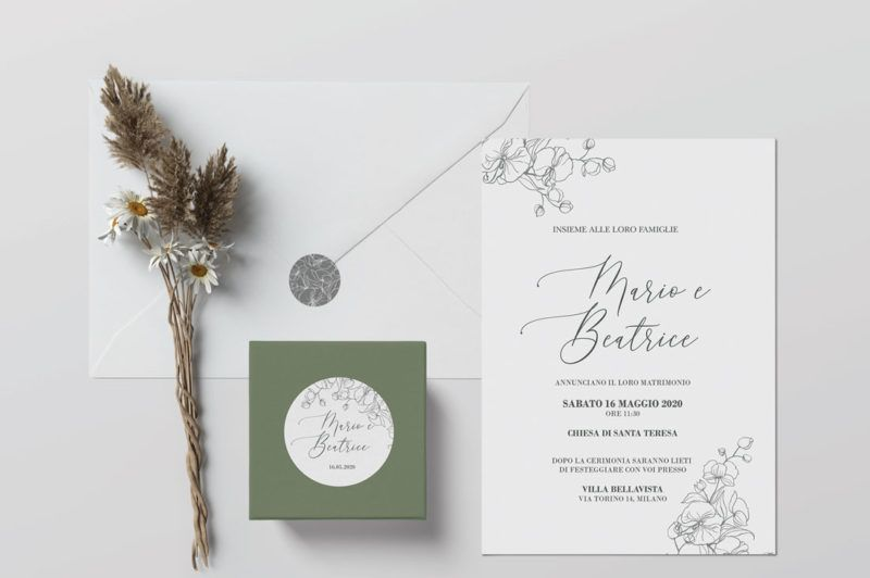 Denver Wedding Invitation Inviti Partecipazioni Matrimonio Partecipazioni Nozze Inviti Nozze