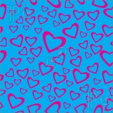 Afbeeldingsresultaat voor heart pattern blue