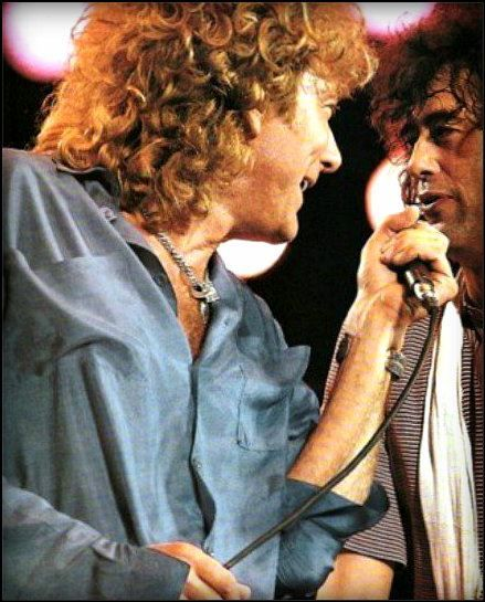 Live Aid 1985 Led Zeppelin Robert Plant Jimmy Page