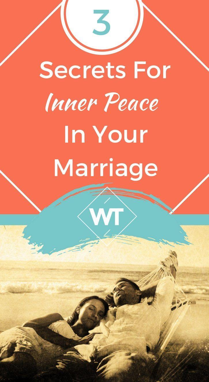 3 secrets long happy marriage