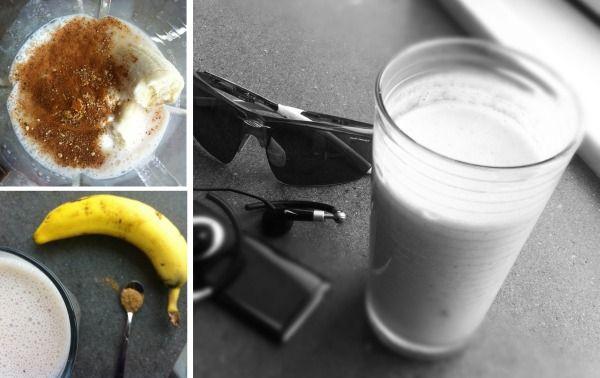 Banana Cardamom Smoothie #athletefood