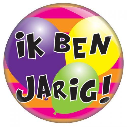 button jarig Ik ben jarig   button   birthday   Pinterest   Happy birthday button jarig