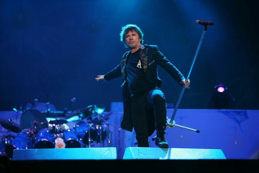 Iron Maiden headling Bravalla Festival in Sweden tonight(26th June)
