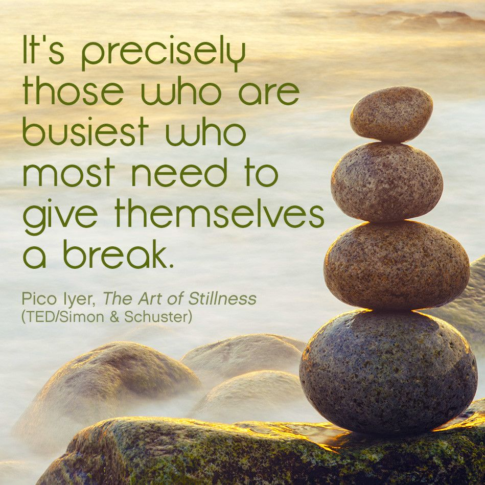 Taking A Break Quotes: Pico Iyer Quote On Taking A Break
