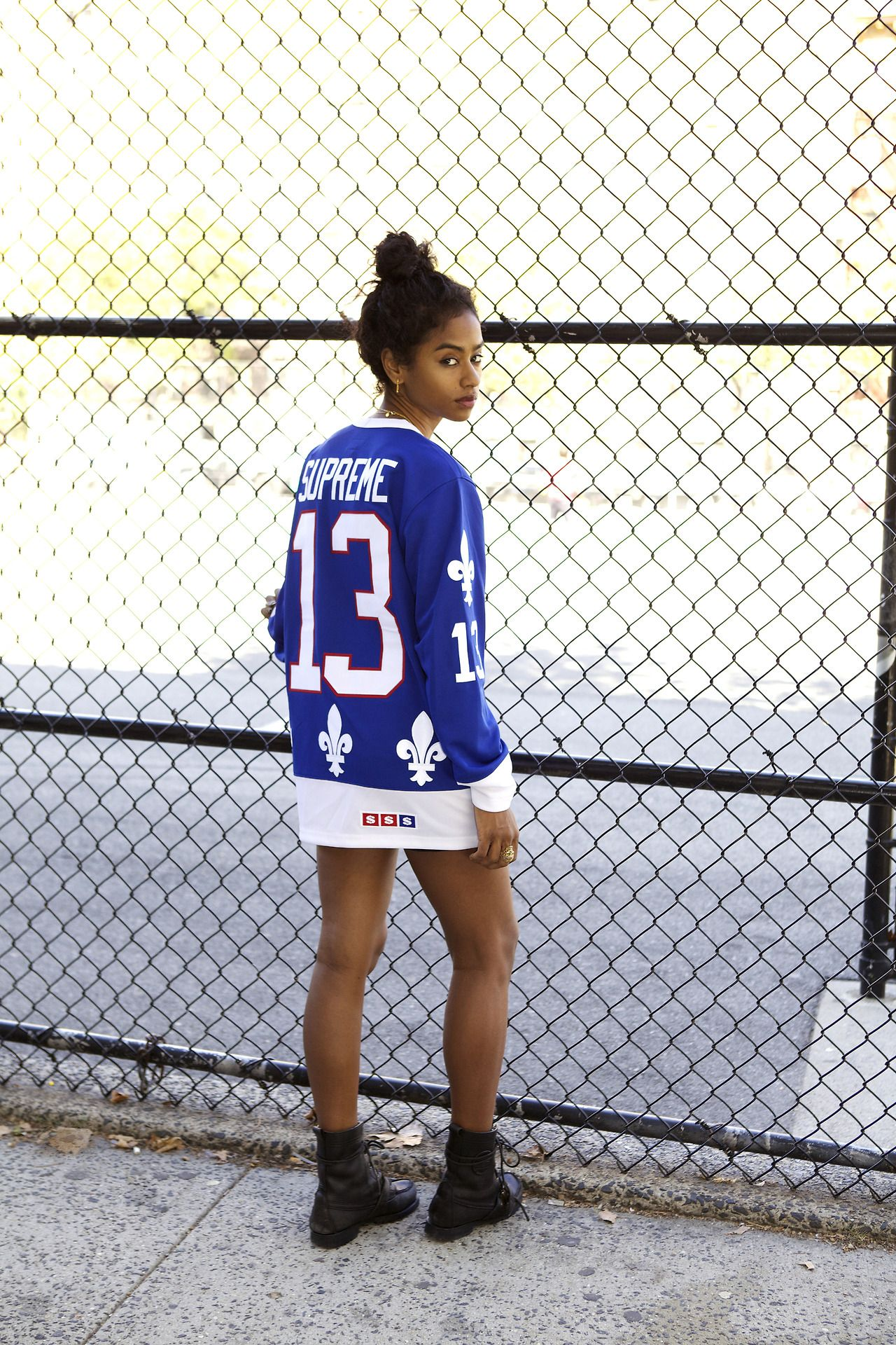 Fleur De Lis Hockey Jersey Urban Fashion September Fashion Cute Outfits