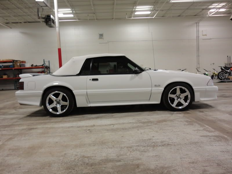 1987 Mustang Gt Convertible Fox Body Red