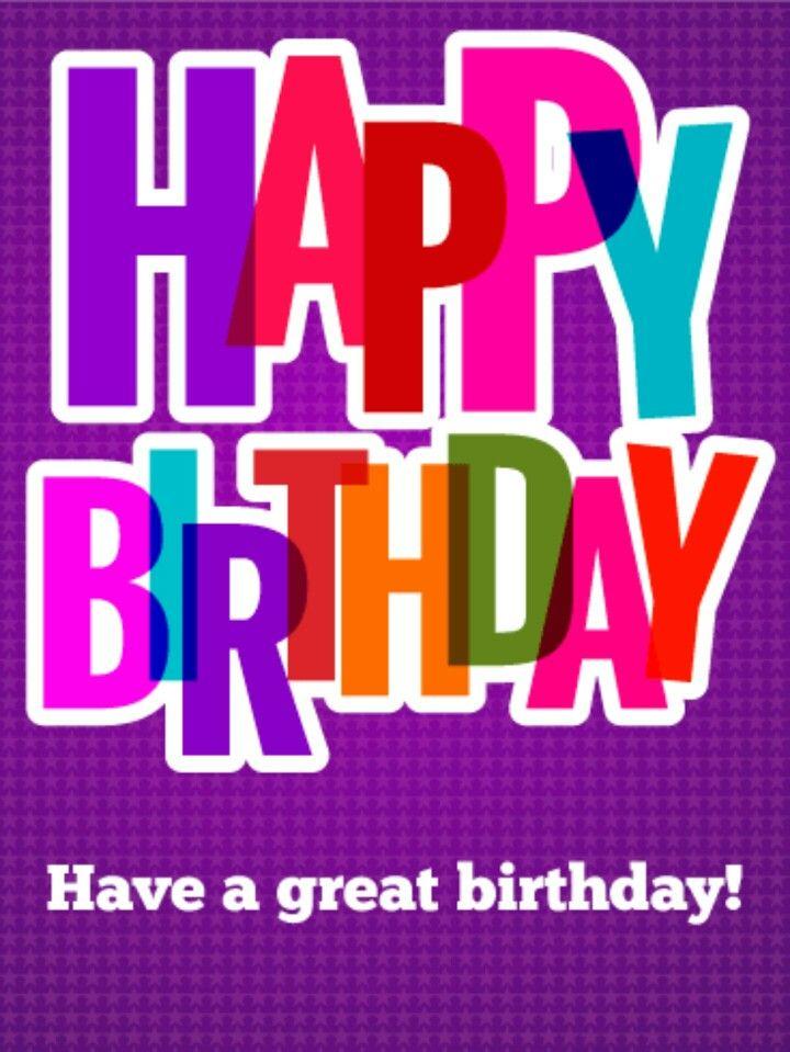 Happy Birthday | Short birthday wishes, Happy birthday ...