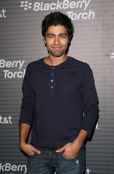 Celebs at the BlackBerry Torch launch party