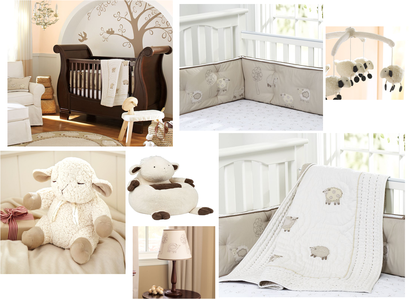 The Nursery Nest Neutral Counting Sheep