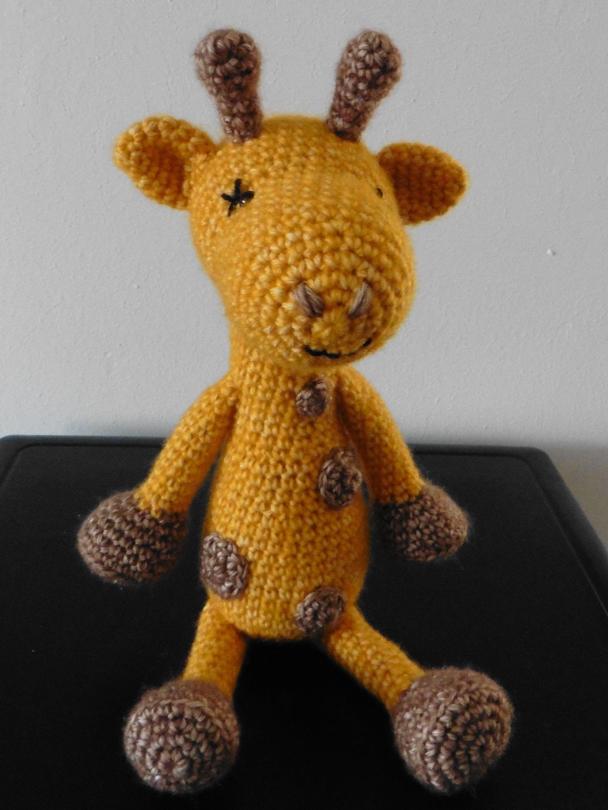 crochet - giraffe - amigurumi pattern: Kristel Krukkert | Patricia\'s ...