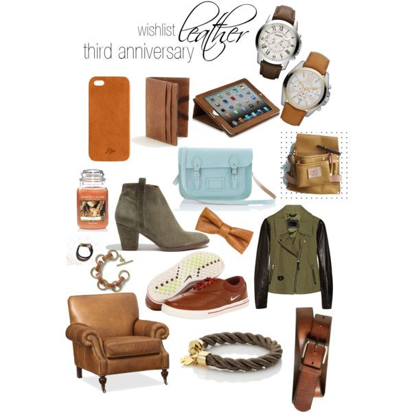 The Happy Homebodies Third Anniversary Gift Ideas Leather