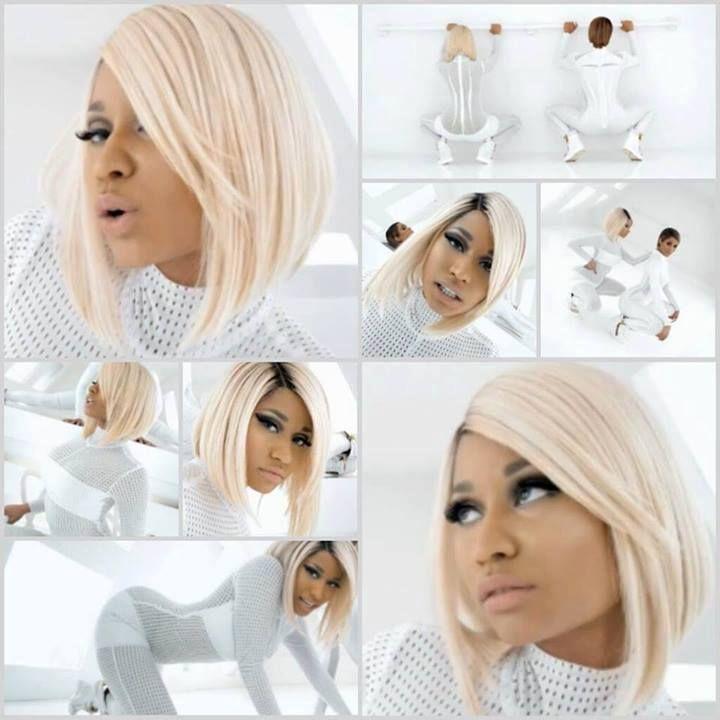 Nicki Minaj I M Out Music Video 2 Blonde Bob Hairstyles Nicki