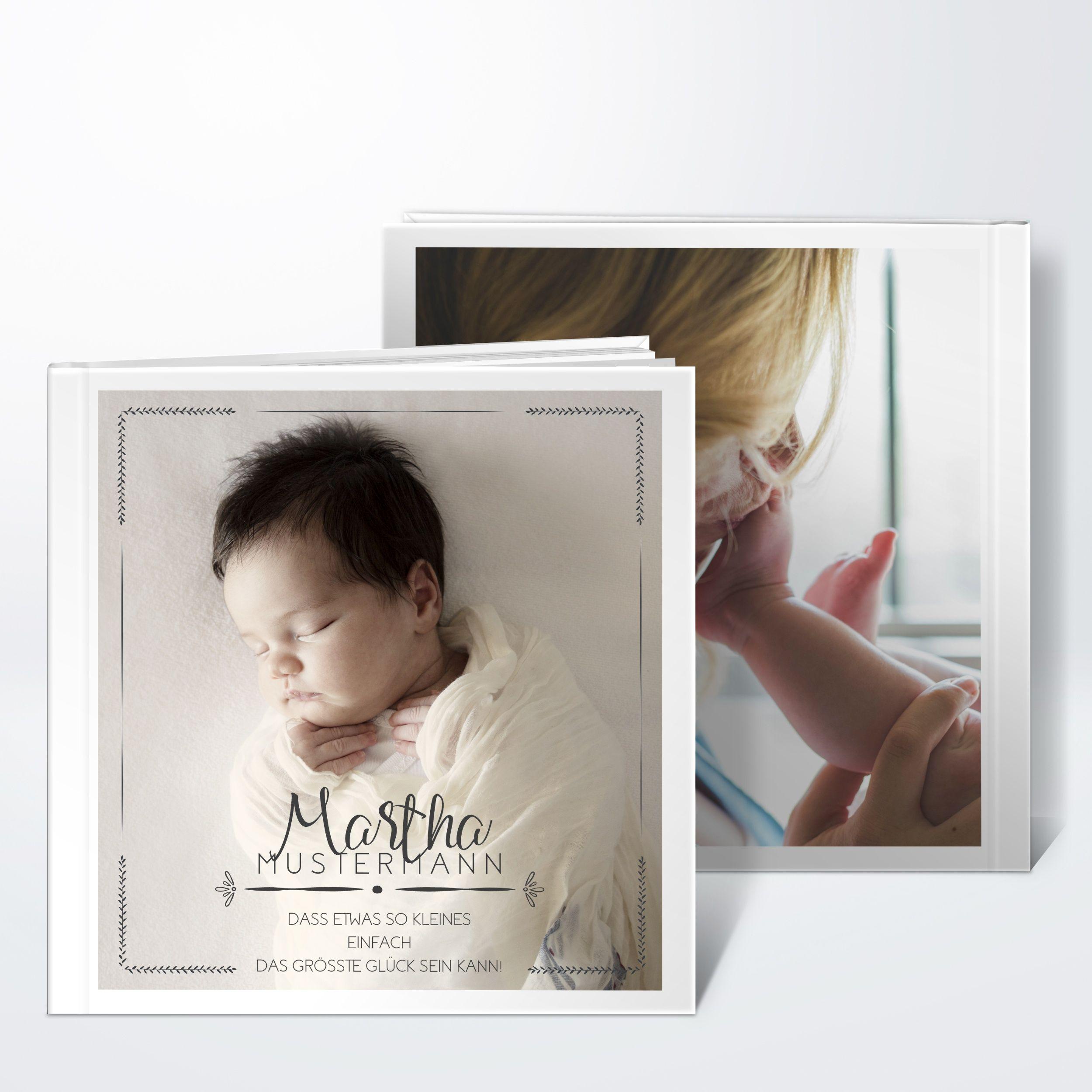 Größtes Glück Hardcover 215x215 Mm Dunkelgrau Hello Baby
