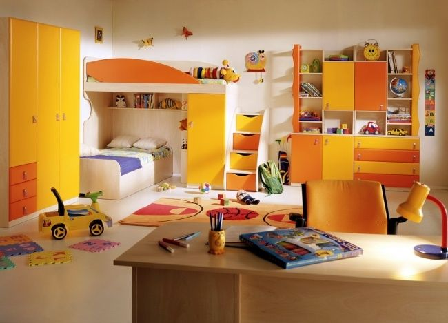 Chambre d\'enfant et d\'ado: 105 idées pour filles et garçons | Design ...