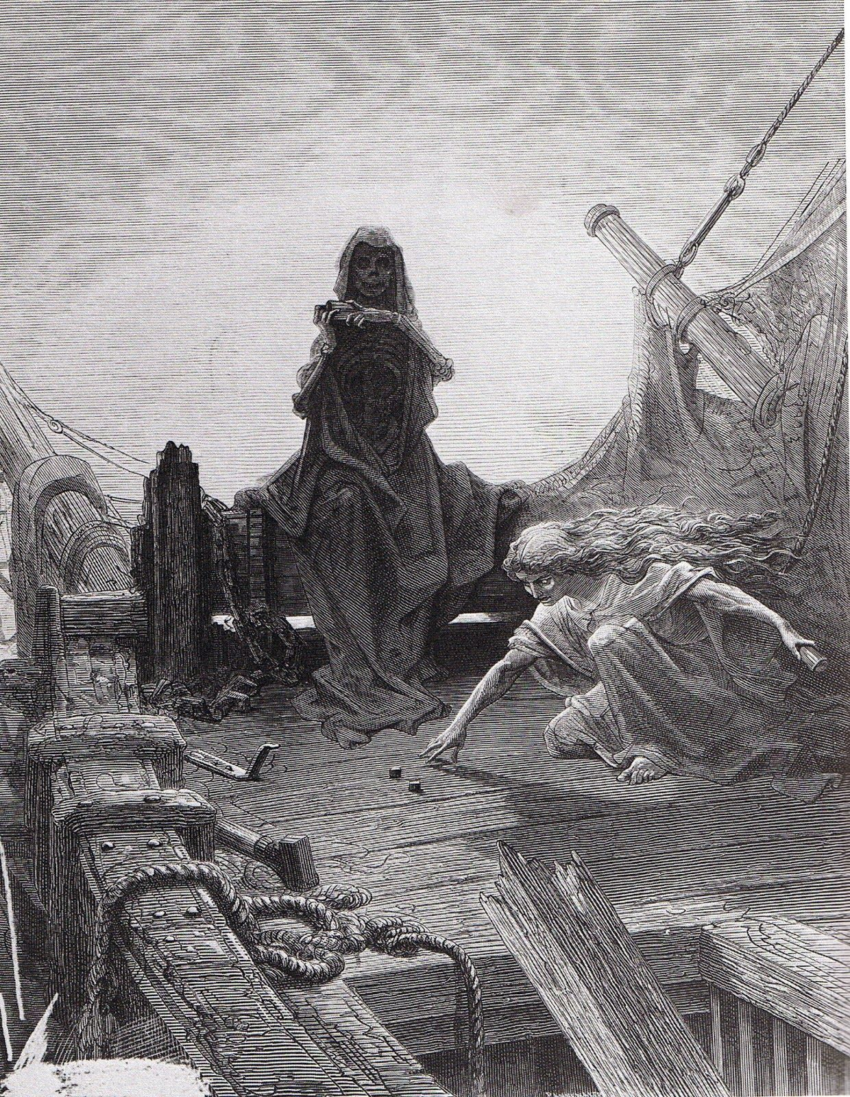 gustave dor atilde copy illustration pour the rime of the ancient mariner gustave doratildecopy illustration pour the rime of the ancient mariner de coleridge the