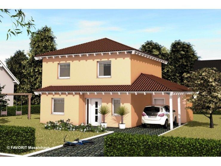 Massivhaus Mediterran ambiente 106 einfamilienhaus bau braune inh sven lehner