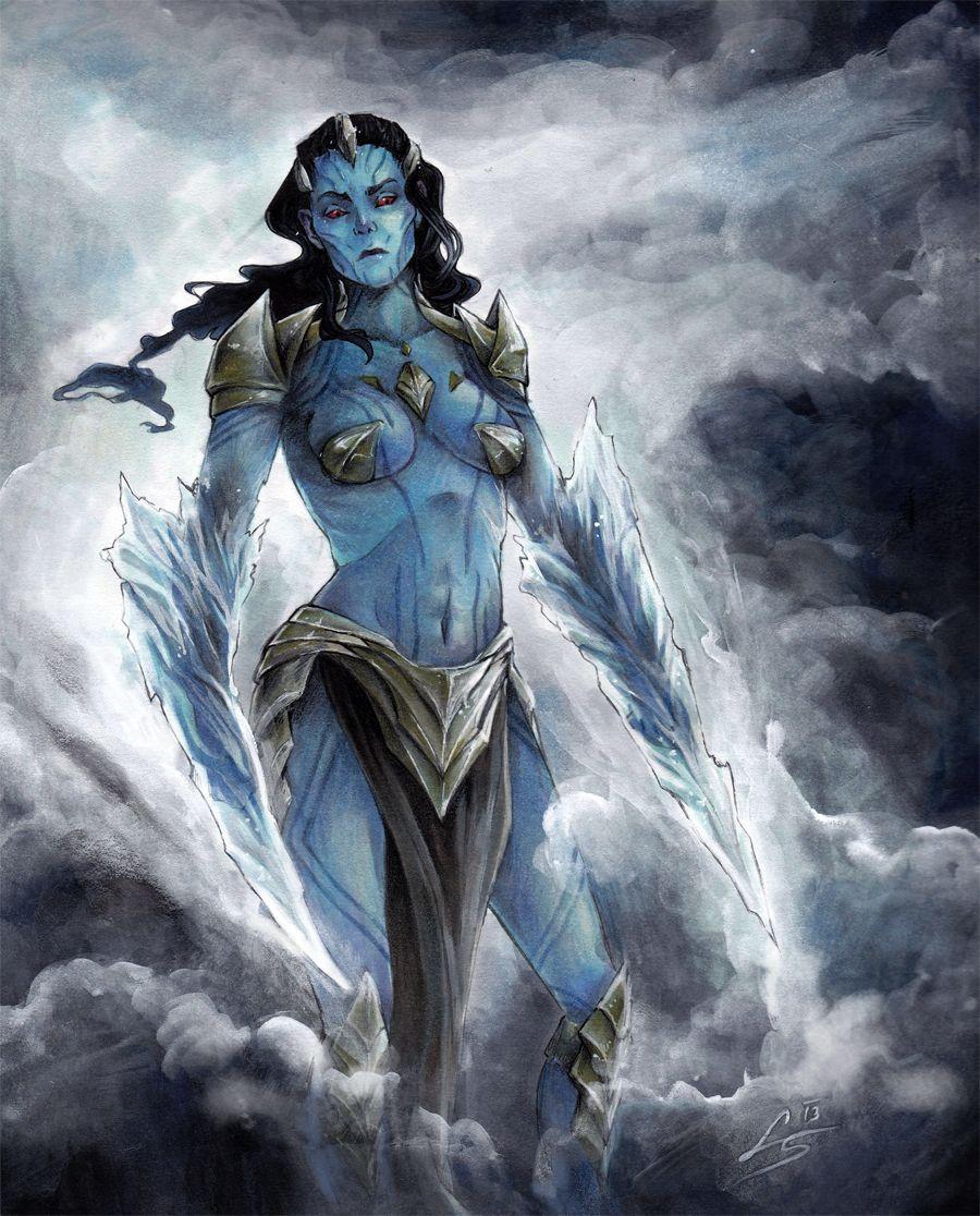 Laufey - Queen of the Frost Giants by litzebitz.deviantart ...