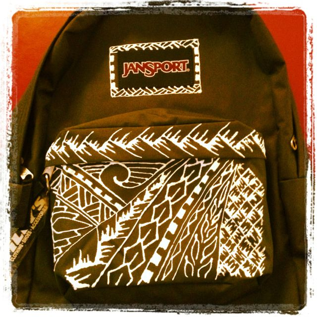 Polynesian Backpack