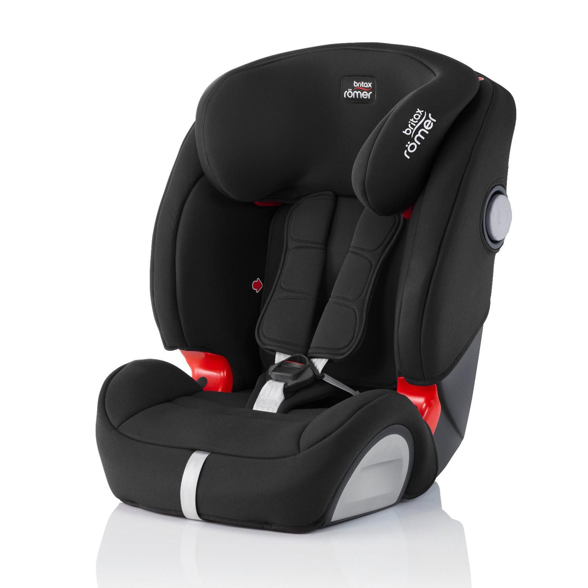 Britax Romer Evolva Sl Sict Group 1 2 3 Cosmos Black Car Seat In 2020 Car Seats Britax Romer Baby Car Seats
