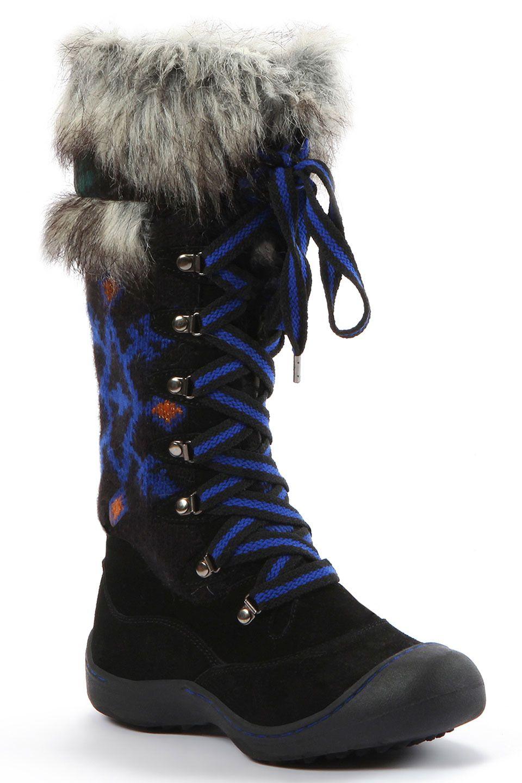 muk luks Gwen Boot in Black - Beyond the Rack