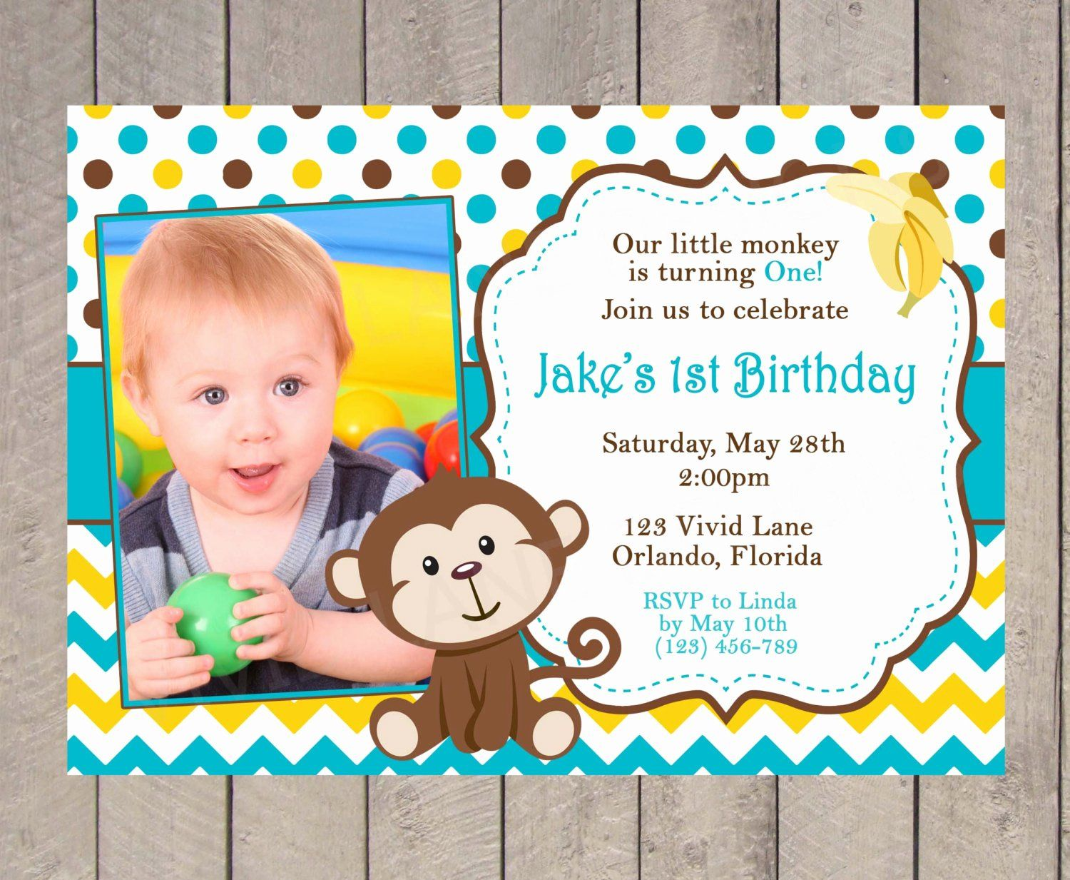 2nd birthday invitation for boy