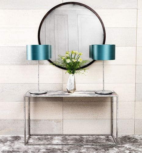 Contemporary Madison Round Mirror Tom Faulkner