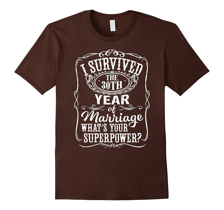 Anniversary Gift 30th 30 years Wedding Marriage T Shirt