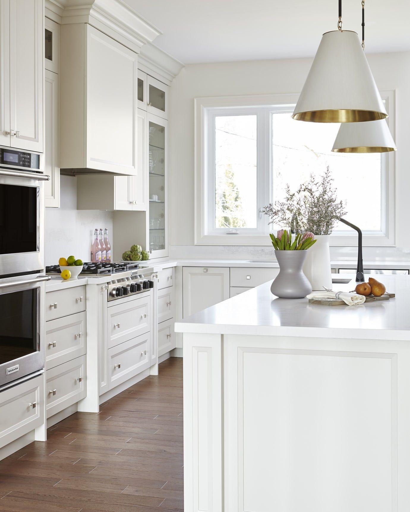 Custom Home Designs Toronto: Transitional White Kitchen In Toronto Kitchen Bar